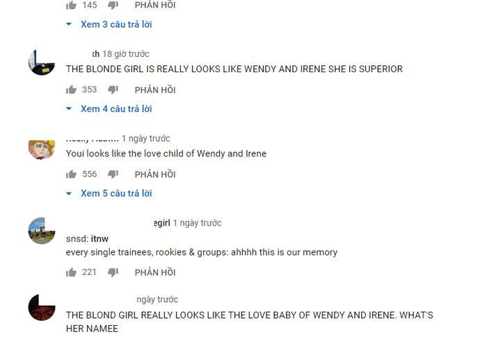 Thành viên nhóm nhạc nữ tân binh khiến netizen sôi sục vì có ngoại hình lai giữa Irene và Wendy-1