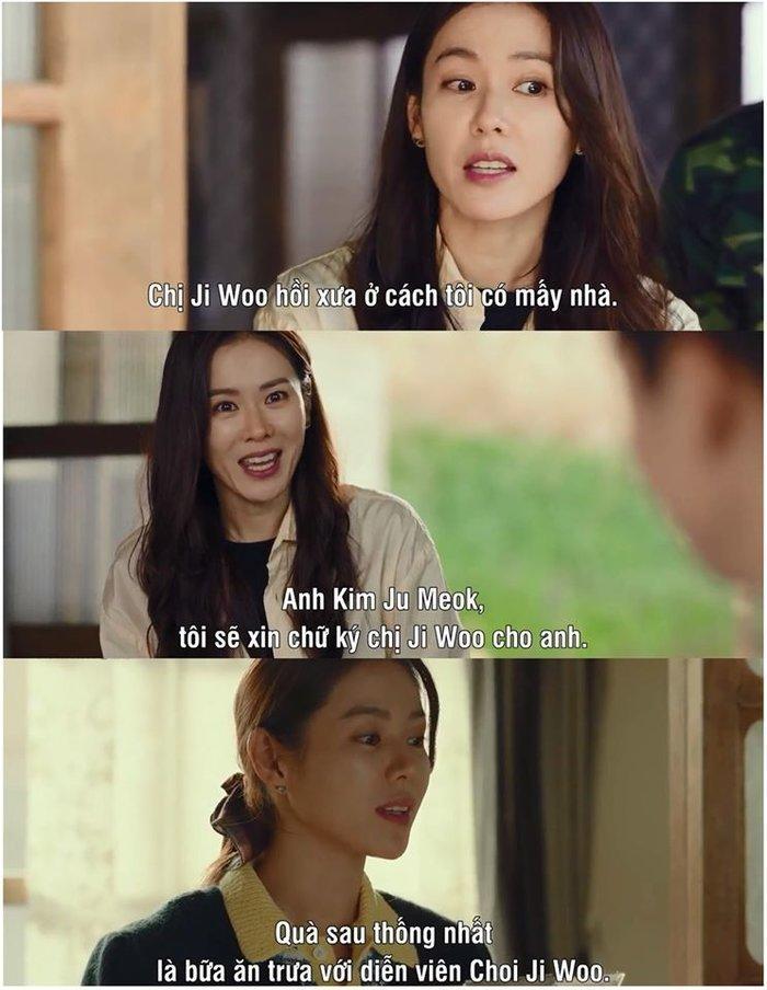 Đang mang thai, Choi Ji Woo vẫn tham gia phim Hạ cánh nơi anh của Son Ye Jin - Hyun Bin-4