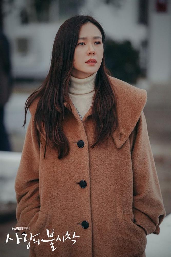 Đang mang thai, Choi Ji Woo vẫn tham gia phim Hạ cánh nơi anh của Son Ye Jin - Hyun Bin-2