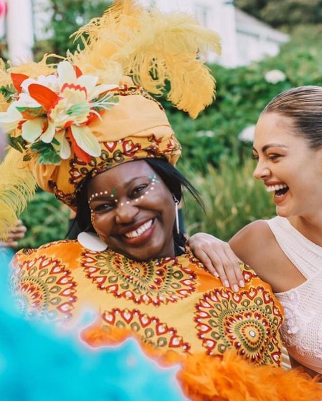 Hoa hậu Hoàn vũ 2017 kết hôn với tuyển thủ bóng chày-3