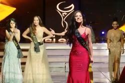 SHOCK NẶNG: Thí sinh Miss Global 2019 lao lên sân khấu, gào khản cổ chỉ trích ban tổ chức