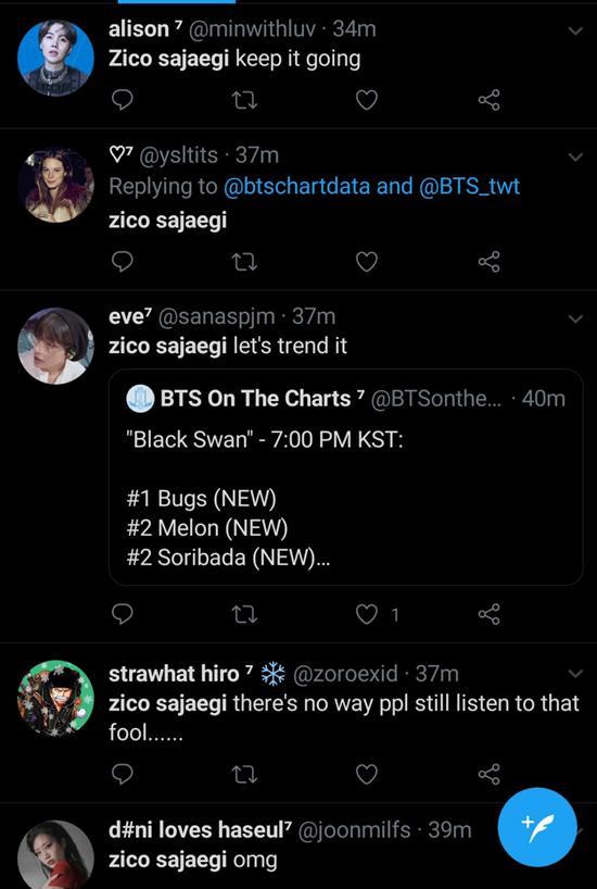 Fan BTS buộc tội Zico gian lận vì thua trên BXH nhạc số-2