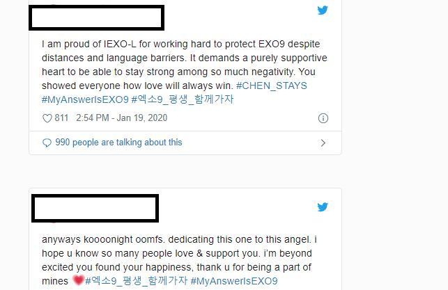 Sau cuộc biểu tình yêu cầu rời EXO, người hâm mộ trend hàng loạt hashtag bảo vệ Chen-2