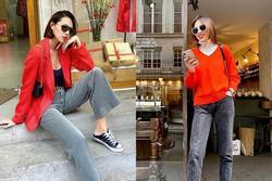 Năm mới 'lên đồ' đỏ rực, đa phong cách như 'đôi tình nhân' Kỳ Duyên - Minh Triệu
