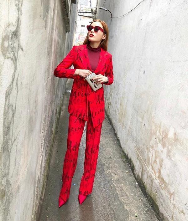 Năm mới lên đồ đỏ rực, đa phong cách như đôi tình nhân Kỳ Duyên - Minh Triệu-1