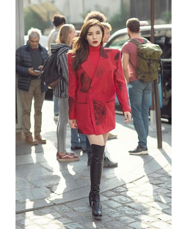 Năm mới lên đồ đỏ rực, đa phong cách như đôi tình nhân Kỳ Duyên - Minh Triệu-4
