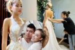 Ngân 98 đi thử váy cưới, dân mạng đồn đoán hotgirl ngực khủng sắp lấy chồng?