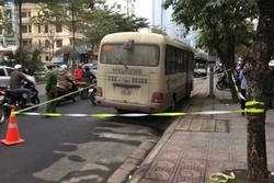 Hà Nội: Tài xế xe khách chết gục bất thường trên vô lăng