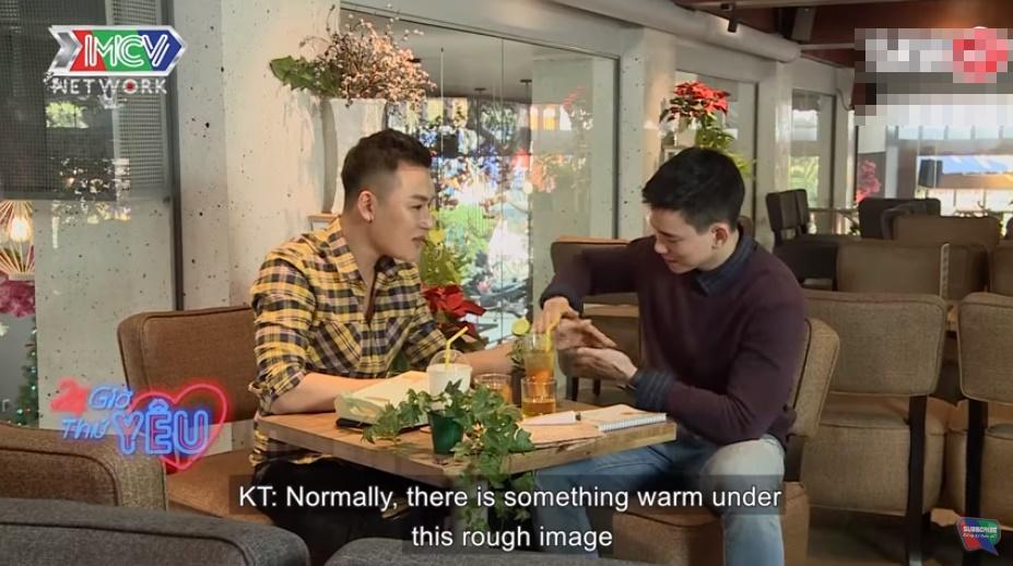 Hotboy khiến dân tình la ó khi công khai người yêu trong chương trình hẹn hò-2