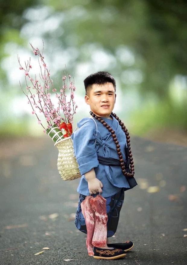 Cười sặc ảnh chế Quang Hải về quê bán đào kiếm bánh chưng có thịt, thầy Park tay xách nách mang sắm tết-7
