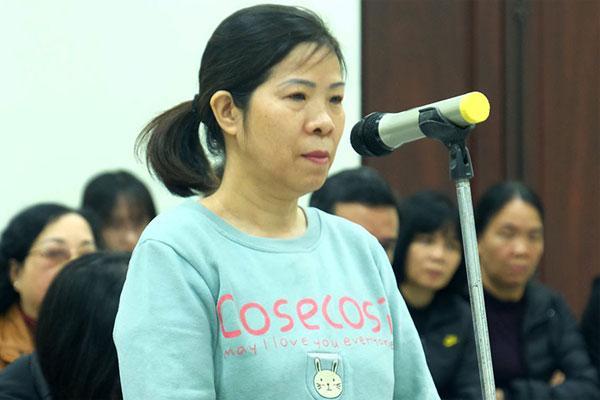 Bà Nguyễn Bích Quy kháng cáo, đề nghị làm rõ trách nhiệm của trường Gateway-1