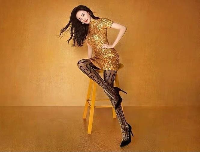 Dương Mịch váy ngắn tôn đường cong hút mắt, chân dài miên man-3