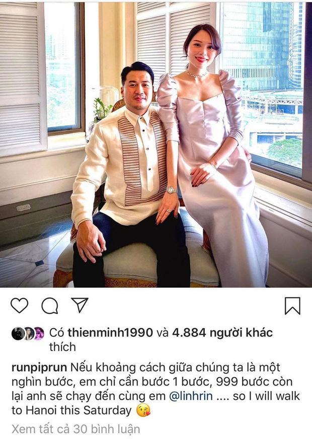 Vừa xa nhau em chồng Hà Tăng đã gửi lời ngôn tình đến bạn gái, đọc thôi cũng thấy tan chảy rồi-2