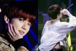 Jungkook (BTS) và loạt idol cắn răng chịu đau, khắc lên da thịt những điều ý nghĩa về fan hâm mộ