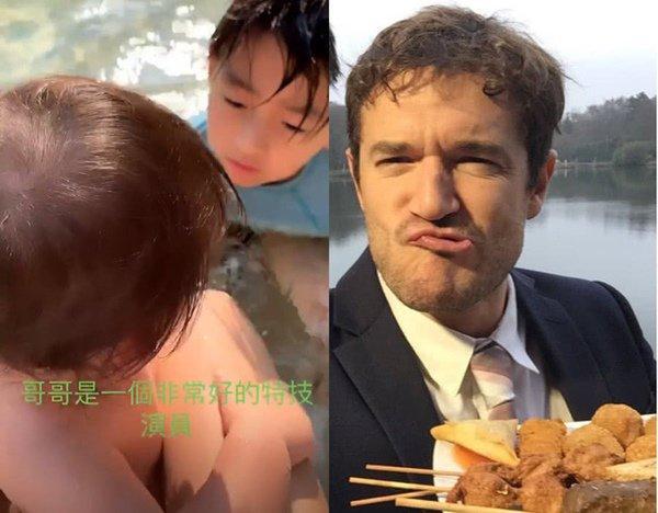 Chờ bao lâu cuối cùng Trương Bá Chi cũng thừa nhận bé Marcus chính là con lai-4
