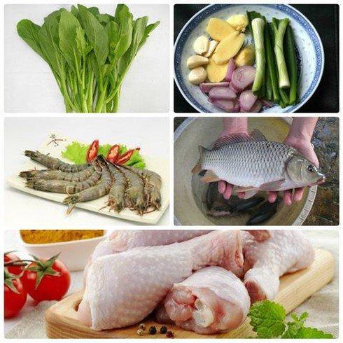 Những loại thực phẩm kỵ nhau tuyệt đối không dùng chung trong ngày Tết-2