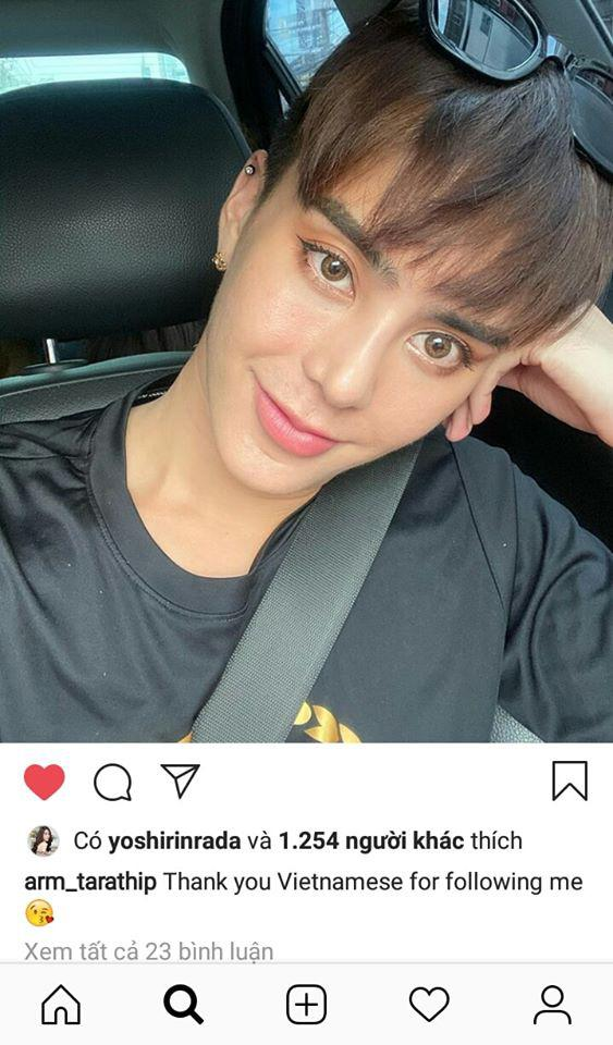 Sau màn quay lại làm đàn ông gây sốc, Hoa hậu chuyển giới Thái Lan gửi lời cảm ơn fan Việt trên Instagram-1