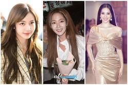 Lisa lần đầu để tóc mái rẽ ngôi khoe trán sân bay - Park Min Young lộ lớp nền bóng dầu, lệch tông