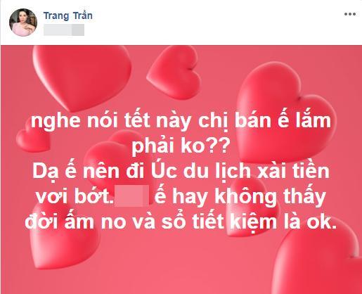 Dọn nhà đón Tết giúp Trang Trần, người thân tiện tay vứt luôn xấp tiền dày cộp-2