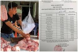 Tiểu thương đẩy giá thịt heo lên mức cao nhất từ trước đến nay