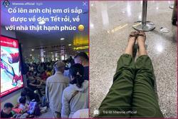 H'Hen Niê vạ vật ở sân bay nhiều giờ khi về quê ngày cận Tết