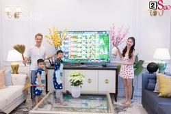 Ghé thăm biệt thự 'khủng' xem gia đình Đăng Khôi - Thủy Anh dọn dẹp đón Tết