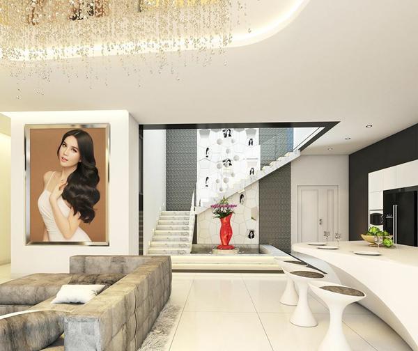 Ngọc Trinh khoe ảnh khỏa thân siêu to khổng lồ tại căn biệt thự triệu đô mới tậu-6