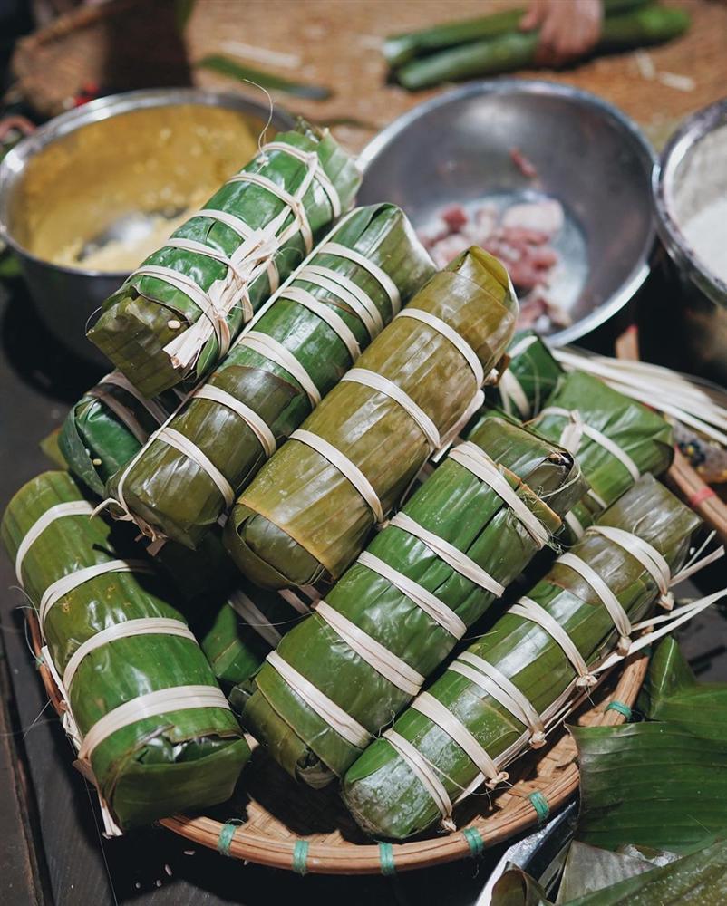 HHen Niê gói bánh tét ăn Tết, thành quả của hoa hậu khiến nhiều người phải bất ngờ-10