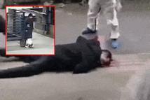 Người đàn ông ở Vũ Hán nghi bị nhiễm virus corona ngã xuống đất, nôn ra máu như trong phim kinh dị