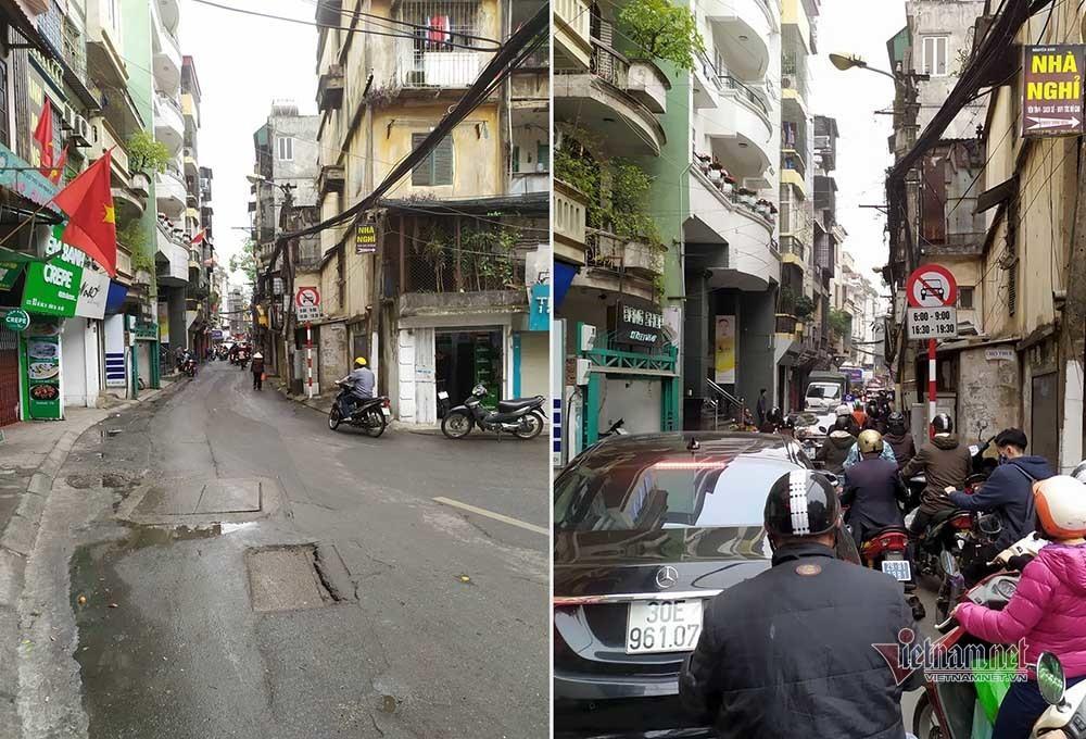 Kỳ diệu Hà Nội sáng mùng 1 Tết, đường phố bỗng thênh thang-3