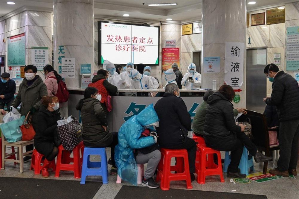 Thi thể bị bỏ ở hành lang, bệnh viện Vũ Hán như ngày tận thế-1
