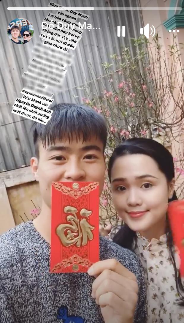 Vợ chồng tuổi Tý Duy Mạnh và Quỳnh Anh cùng dọn nhà, cùng chuẩn bị lì xì mừng năm mới-2