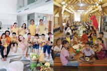 Sao Việt đón Tết bên gia đình: Quân số nhà Ngọc Trinh siêu đông mà vẫn bị nhà H'Hen Niê áp đảo