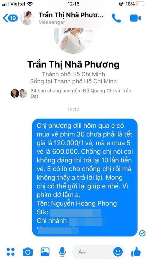 Đúng mùng 2 Tết, Nhã Phương bị đòi nợ 6 triệu đồng vì phim của Trường Giang quá dở-3
