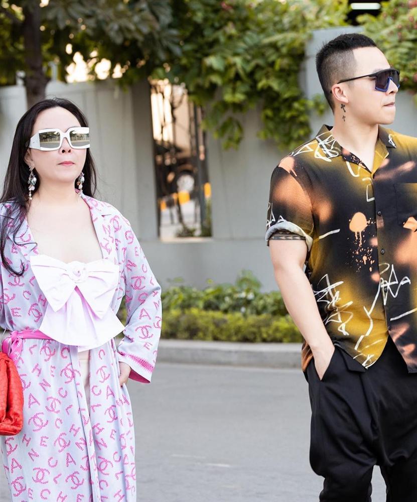 Có phải Phượng Chanel hoàn toàn biết mặc đẹp nhưng cố tình thích phối đồ xấu để bị chê?-3