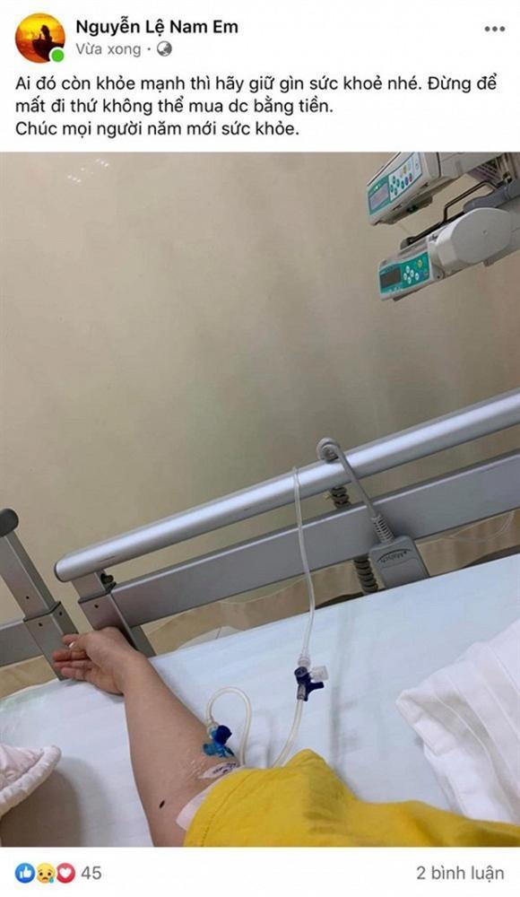 Nam Em phải nhập viện vào mùng 2 Tết sau chuỗi ngày ồn ào bị bạn gái Quốc Bảo tố là người thứ ba-1