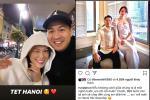 'Ăn bánh gato' mệt nghỉ đầu năm: Cuối cùng Phillip Nguyễn cũng 'bước 999 bước' ra Hà Nội ăn Tết với Linh Rin rồi nè!