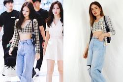 Cô gái nổi tiếng trên mạng nhờ tài mặc đồ giống hệt sao Hàn