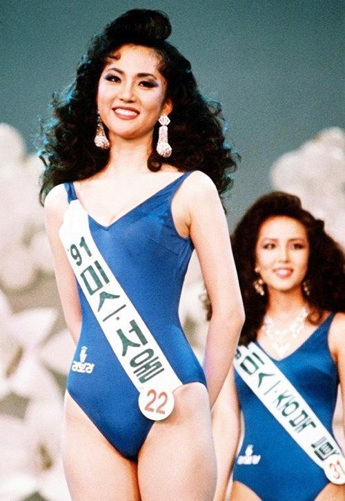 Nhan sắc thời trẻ của á hậu bị Jang Dong Gun phản bội-3