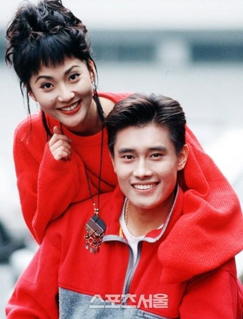 Nhan sắc thời trẻ của á hậu bị Jang Dong Gun phản bội-5