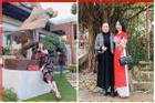 Đầu năm du Xuân, Lệ Quyên, Hương Giang xách túi tiển tỷ ra phố đầy sang chảnh