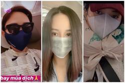 Sao Việt bịt kín mặt đi chơi vì sợ hãi virus corona