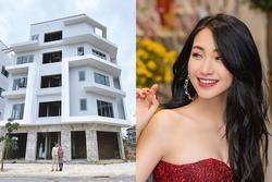 Xây nhà 5 tầng tặng bố mẹ ngày Tết, Hòa Minzy khiến dân mạng trầm trồ