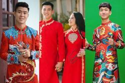 Các cầu thủ Việt bảnh bao trong tà áo dài truyền thống