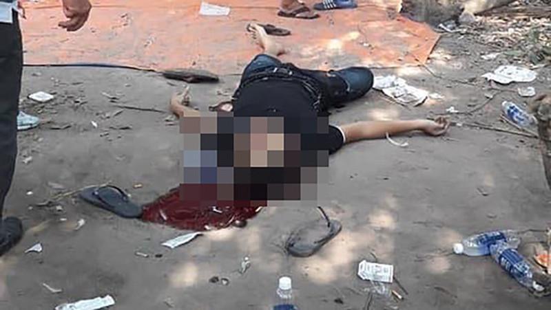 Ám ảnh hiện trường kinh hoàng vụ nổ súng ở sới bạc tại Sài Gòn làm 4 người chết, 1 người bị thương-8