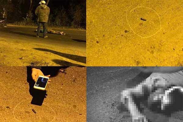 Clip ghi lại khoảnh khắc tài xế Grab nghi bị hung thủ nổ súng ở sới bạc bắn tử vong ngay trên đường chạy trốn-2