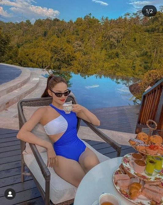 Đầu năm, Minh Hằng và Chi Pu liên tục đốt mắt fan bằng bộ ảnh bikini nóng chưa từng thấy-3