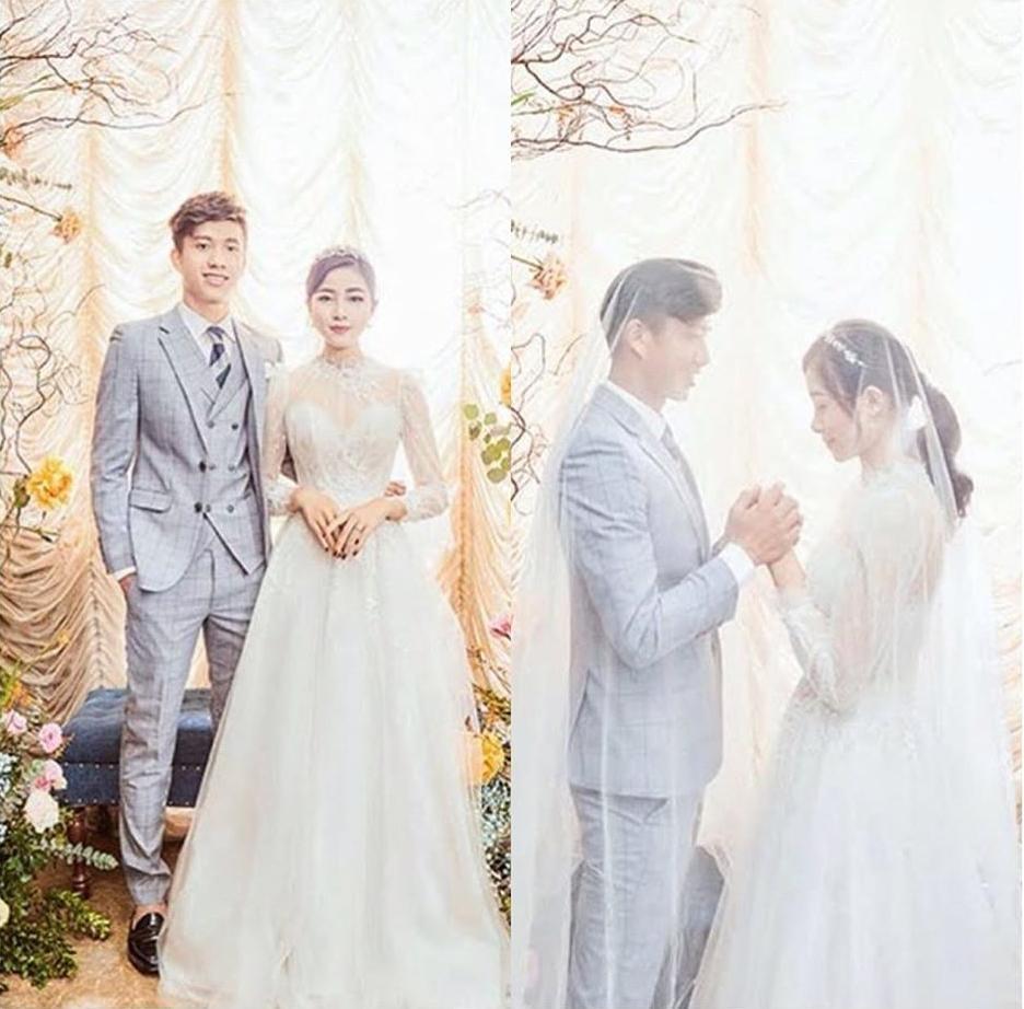 Phan Văn Đức đặt váy cưới trị giá tiền tỷ cho Nhật Linh nhưng lại khiến cô dâu khó khăn đi lại-7