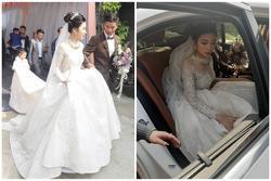 Phan Văn Đức đặt váy cưới trị giá tiền tỷ cho Nhật Linh nhưng lại khiến cô dâu khó khăn đi lại