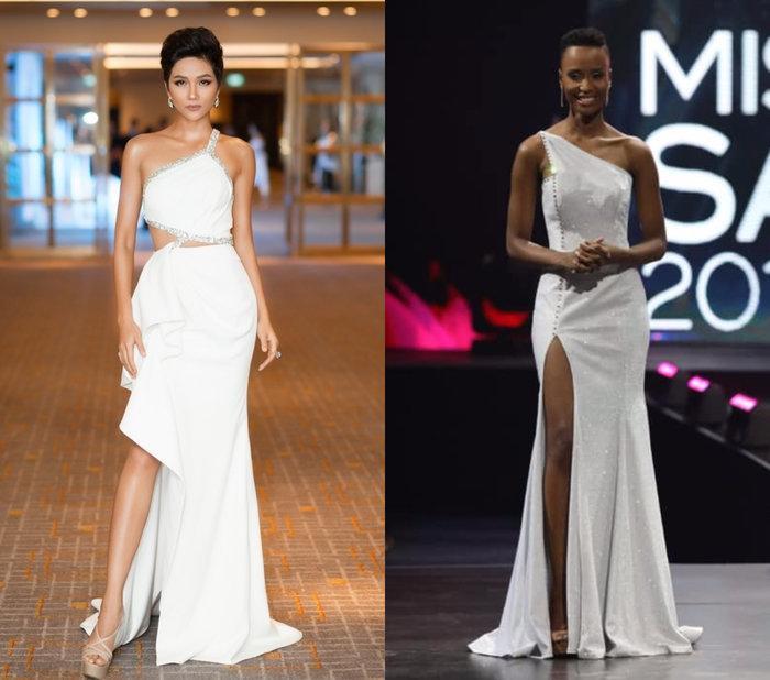 Cùng có nhược điểm hình thể không thể sửa nhưng HHen Niê và Miss Universe 2019 vẫn đẹp vang dội-1